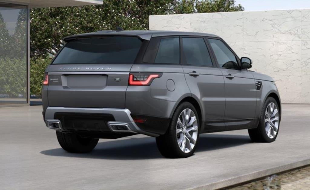 2018 Range Rover Sport Hse Grey 1 Adaptive Vehicle