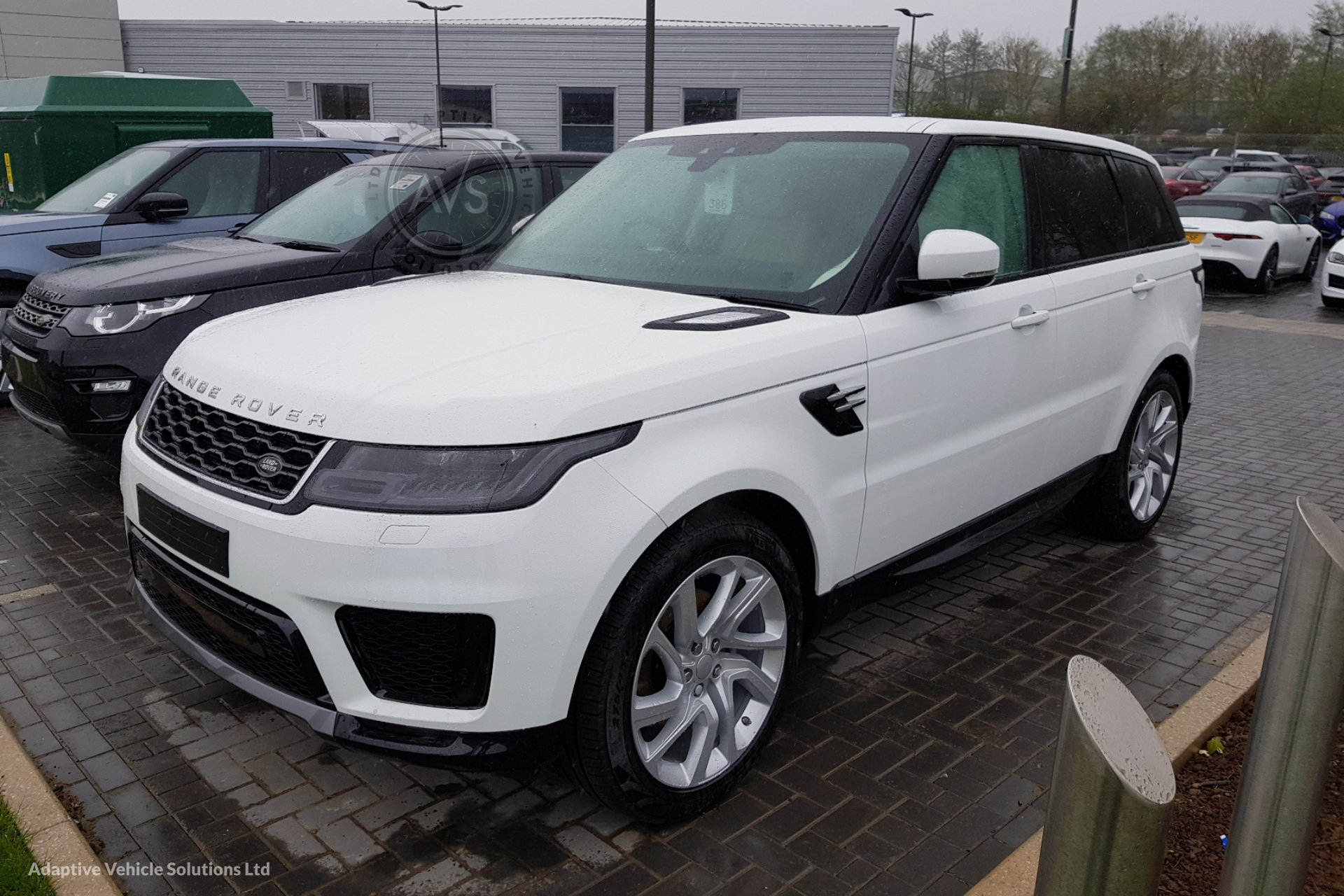 2018 range rover sport hse dynamic 5 2 adaptive vehicle. Black Bedroom Furniture Sets. Home Design Ideas