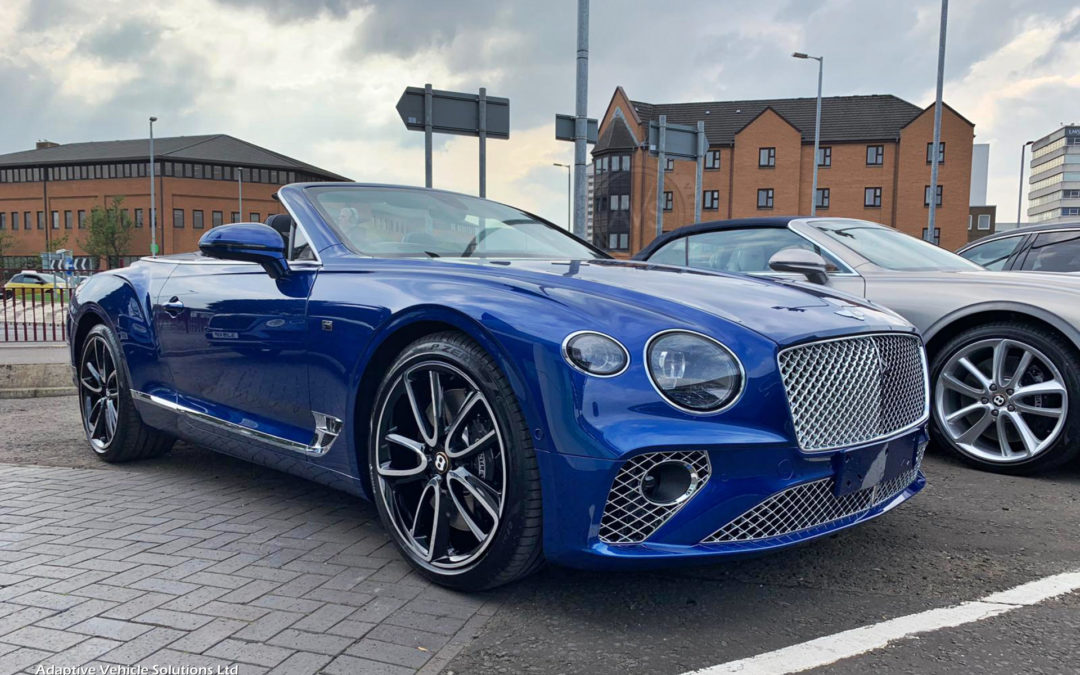 Sold – Bentley Continental GTC First Edition