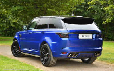 Another Great Testimonial – Range Rover Sport SVR