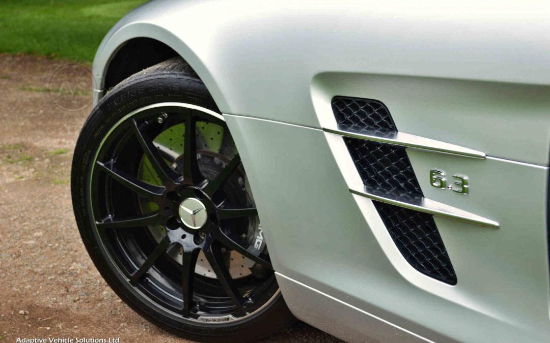 Appreciating Modern Classic Mercedes Benz SLS63 AMG