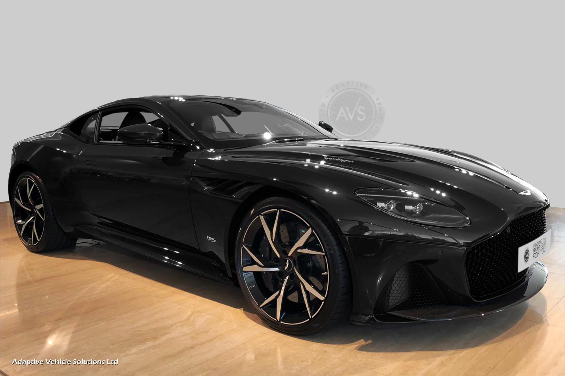 2019 Aston Martin DBS Superleggera Black 05