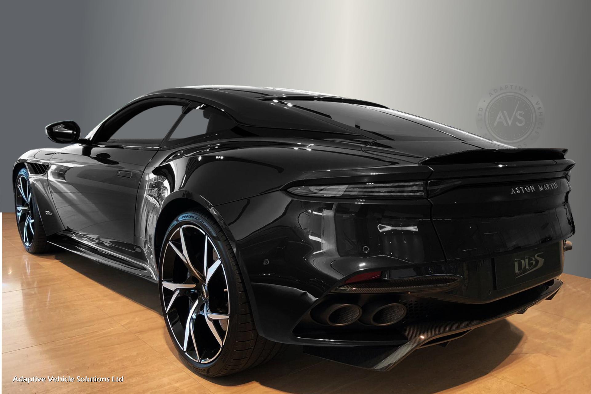 Aston Martin Dbs Superleggera Negro Supercars Gallery