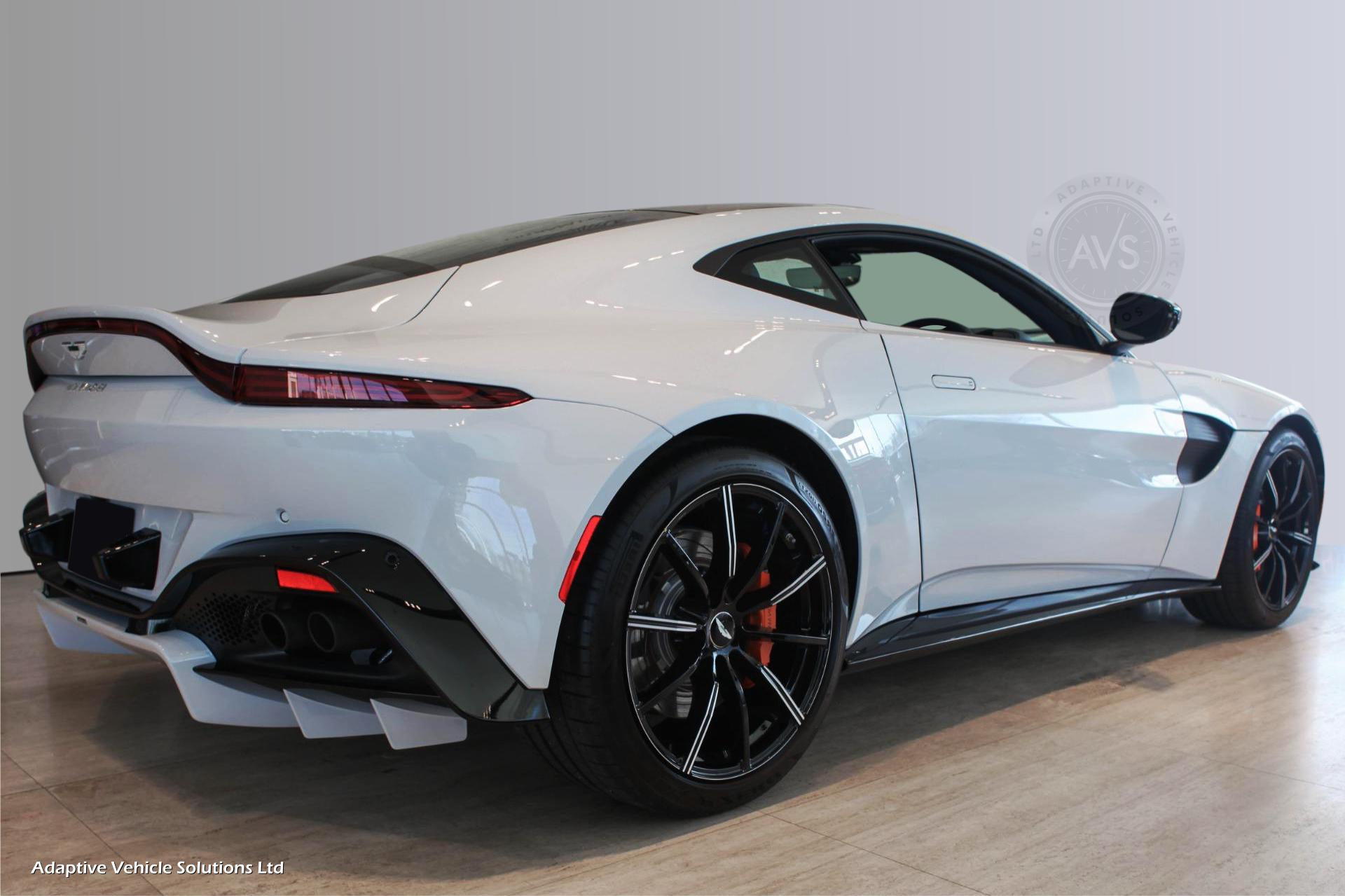 2021 Aston Martin Vantage V8 White 12 Adaptive Vehicle Solutions Ltd