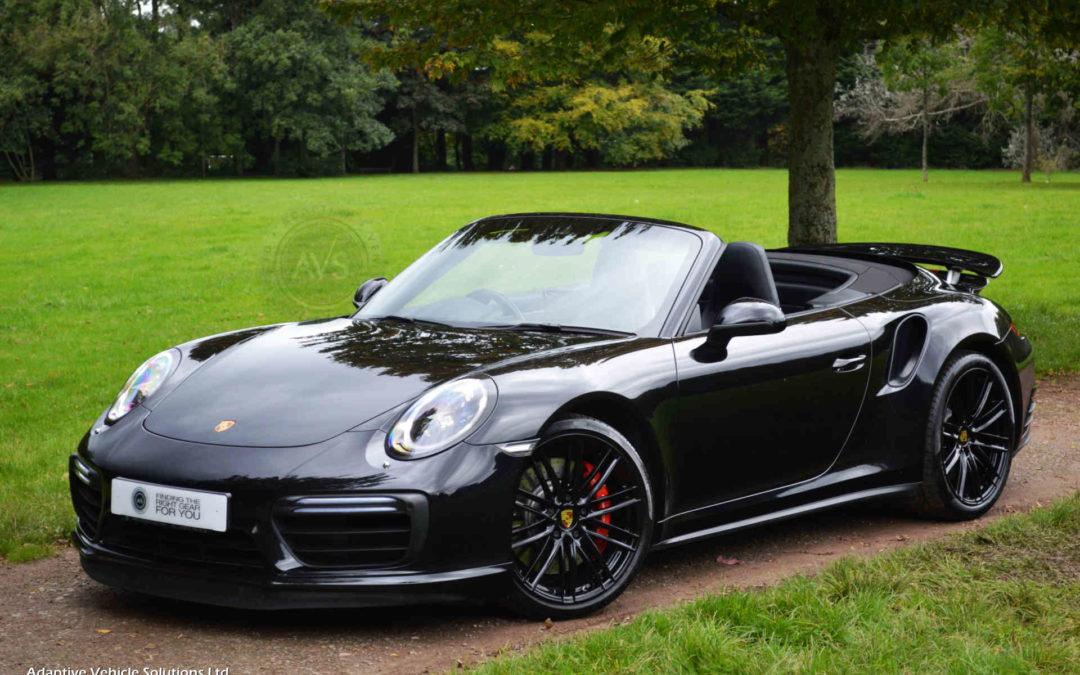 Latest stock Porsche 911 Turbo Cabriolet