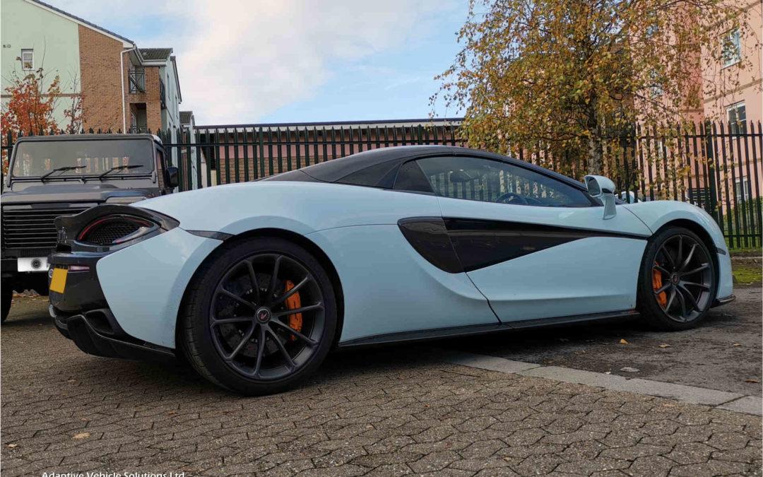 Sold McLaren 570s Spider MSO