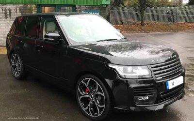 Just Arrived Range Rover Overfinch